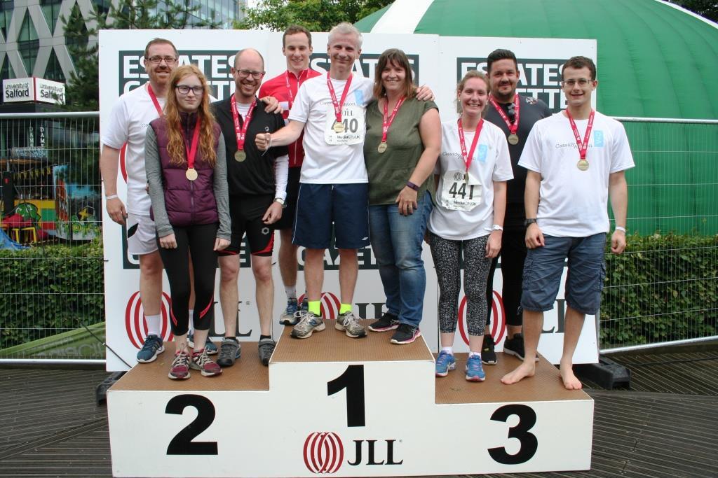 Professionals endure charity triathlon for Preston hospice