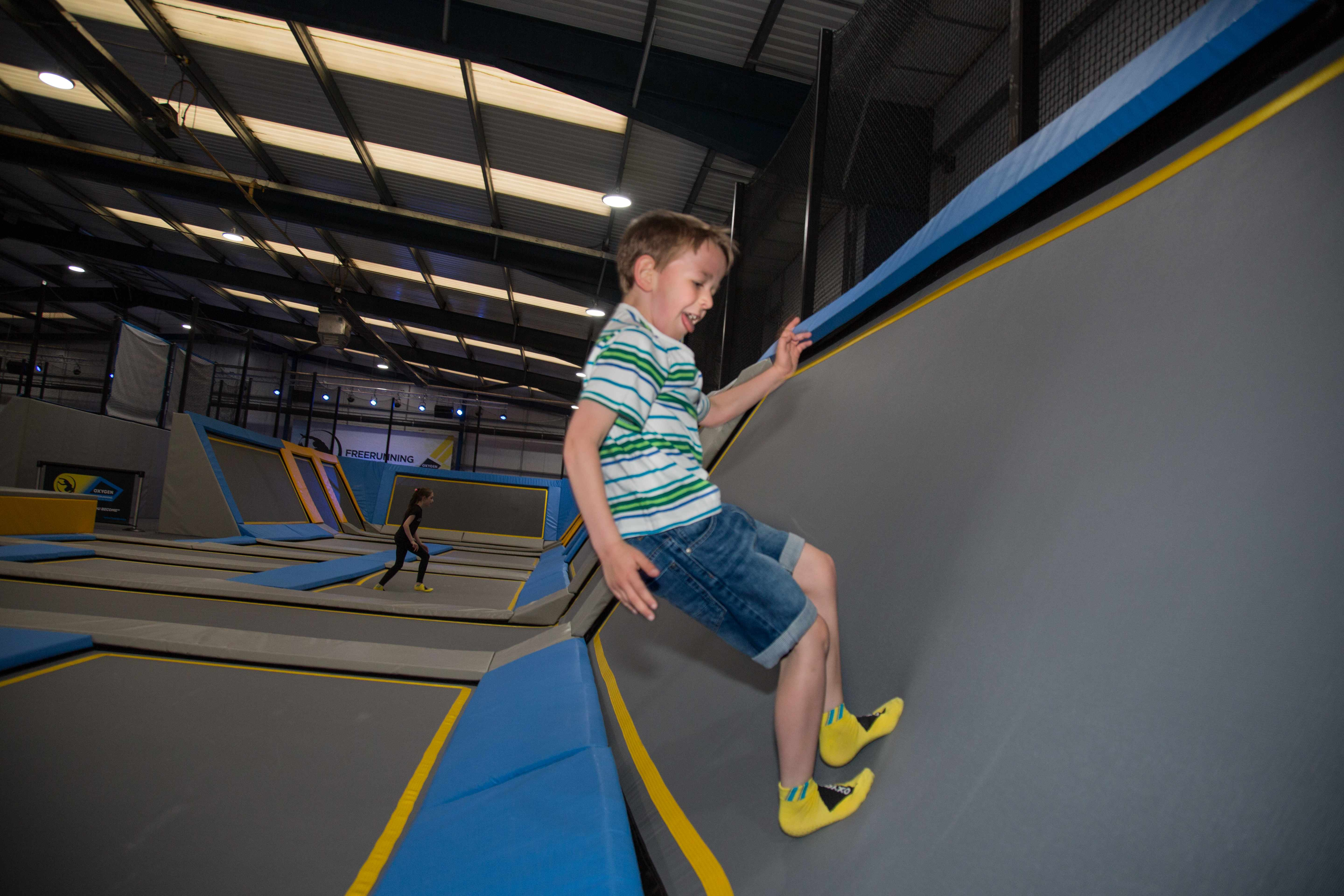 September babies can learn to fly as Oxygen Freejumping Manchester wraps 2,000 birthday presents!