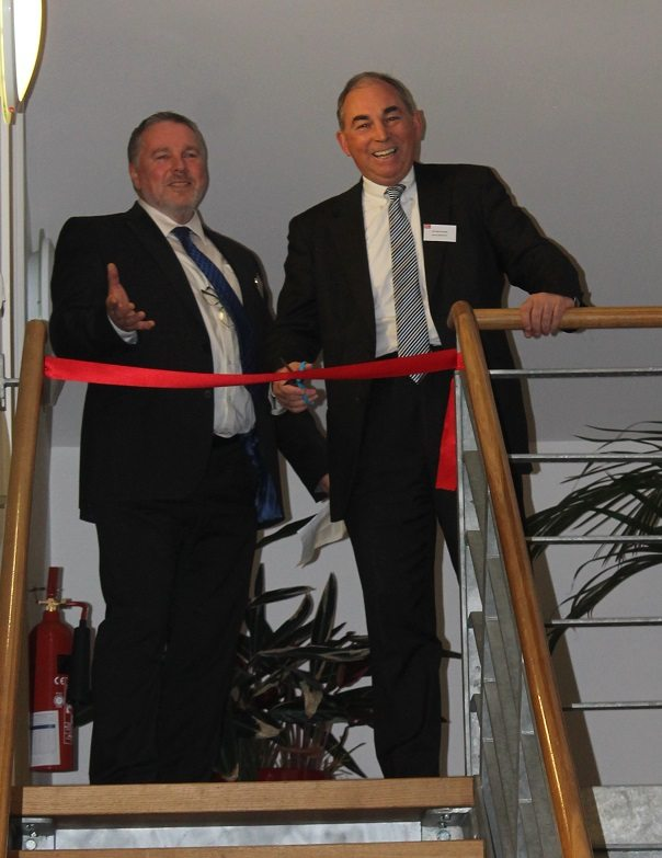 Council Leader Opens New Property Company Office
