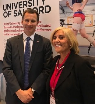 Nursing Dean joins Health Secretary on China trade mission