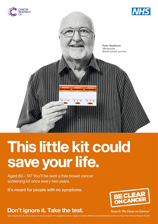 Merseyside Cancer Survivor Fronts Bowel Cancer Screening Awareness TV Ad