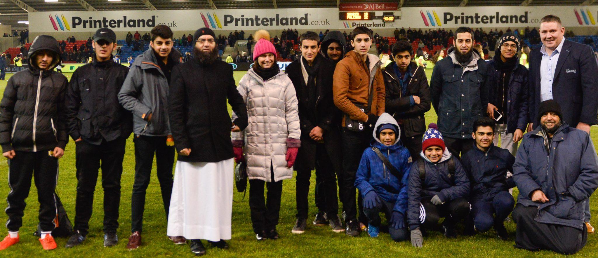 Muslim faith school strikes up partnership with Sale Sharks