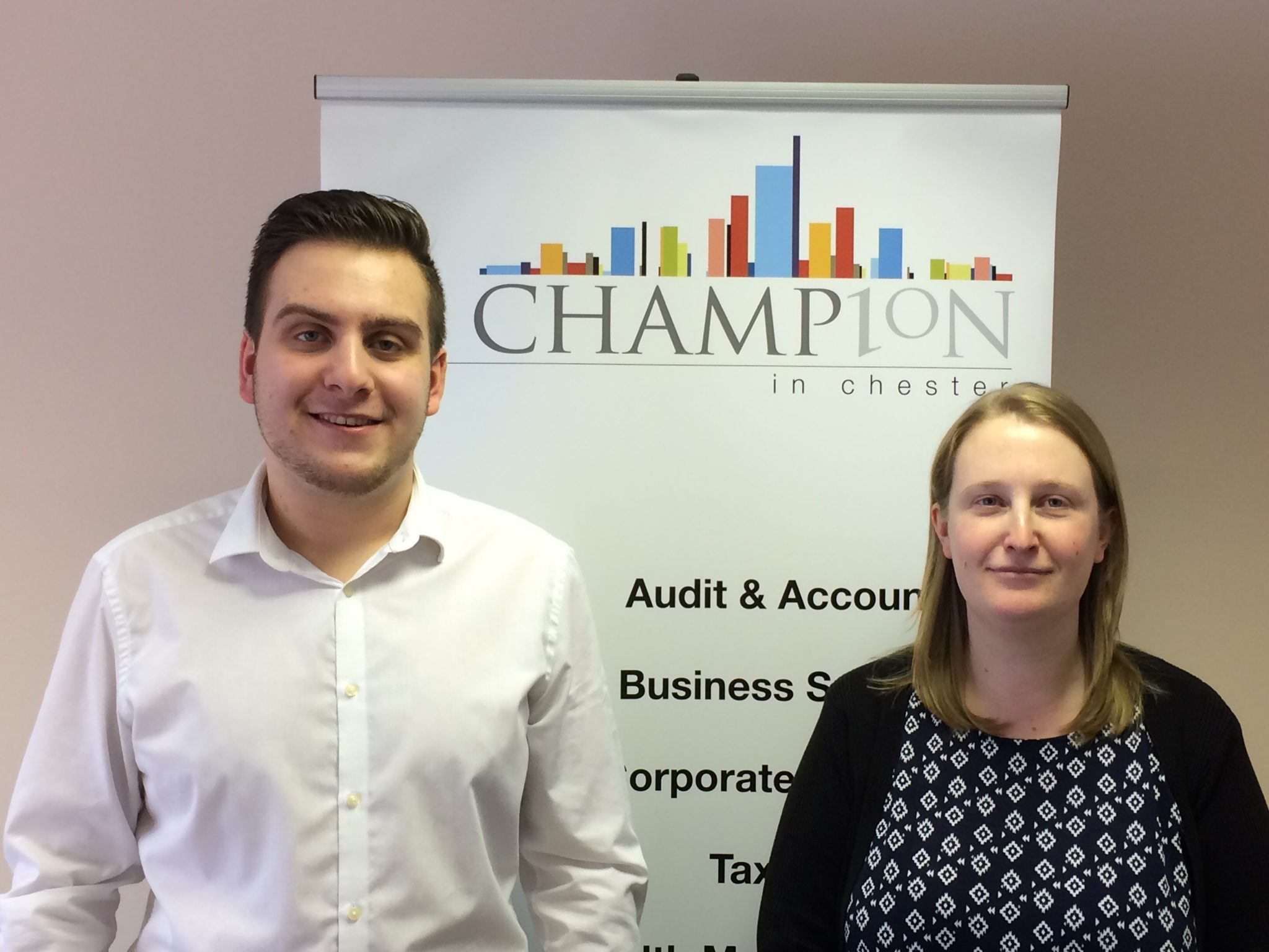Two New Starters at Chester Accountants