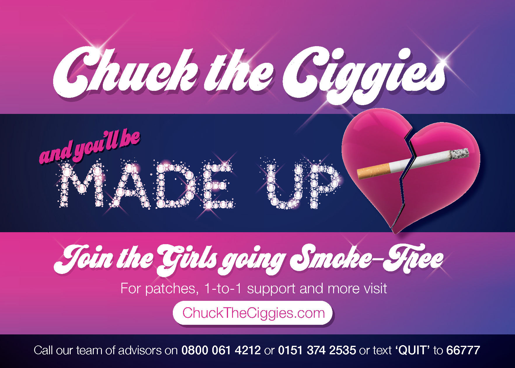 Print all In new window Hundreds commit to quit smoking following campaign in Liverpool
