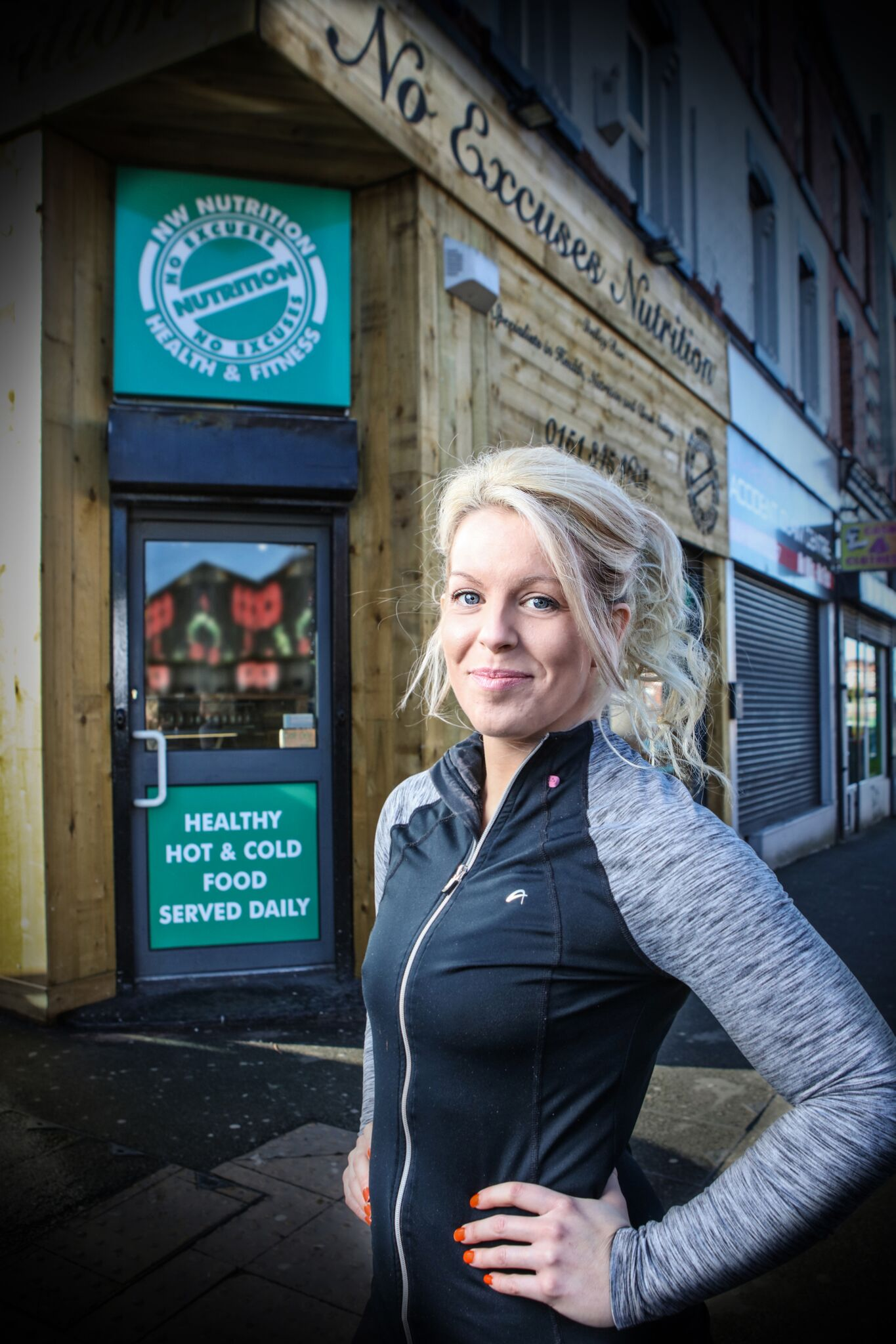 Liverpool-based wellness entrepreneur's firm No Excuses Nutrition & Fitness going from strength to strength