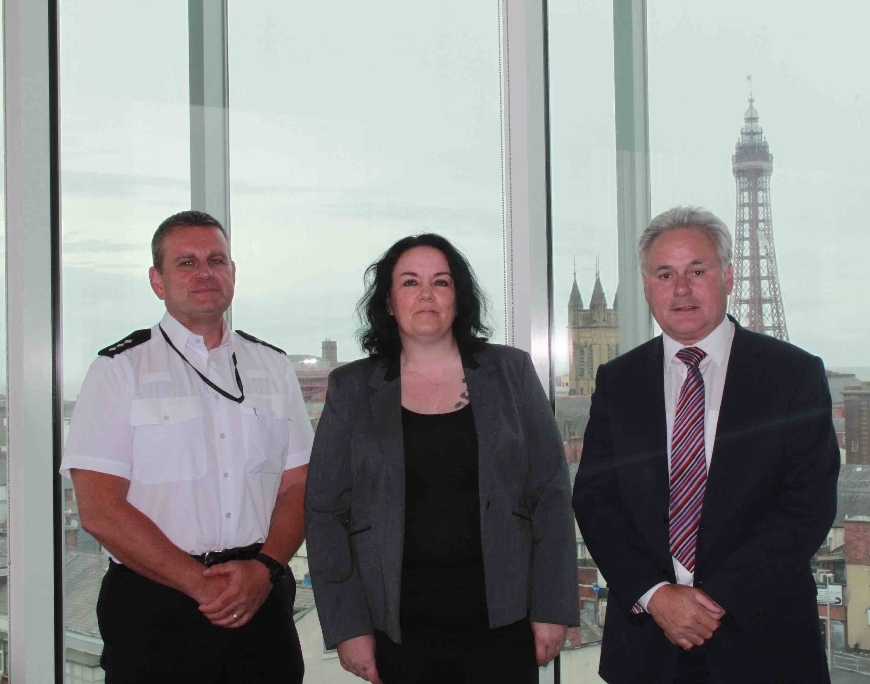 Blackpool Council and Lancashire Police champion new working partnership