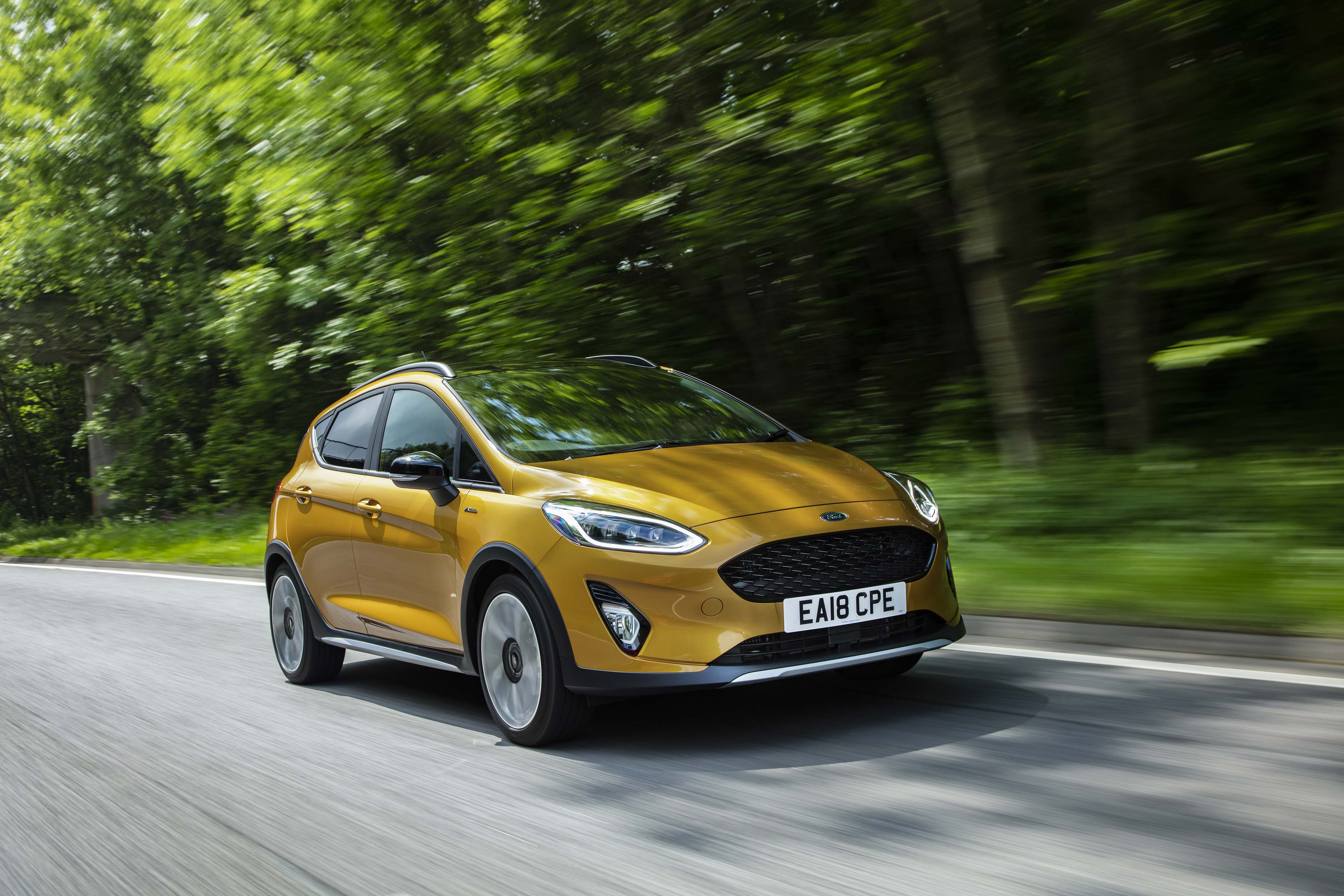 Ford Leads Uk Sales As New Fiesta St Arrives In Showrooms North
