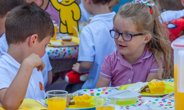 Asda Southport hosts a Picnic for Pudsey!