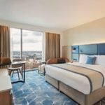 """Crowne Plaza and Staybridge Suites Manchester – Oxford Road  hotel development """"The Lume"""" officially opens this September"""