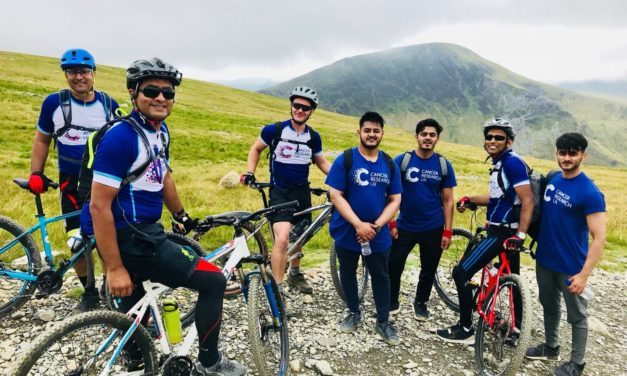 ROCHDALE GPS LEAD 25-STRONG TEAM UP MOUNT SNOWDON FOR CANCER RESEARCH UK