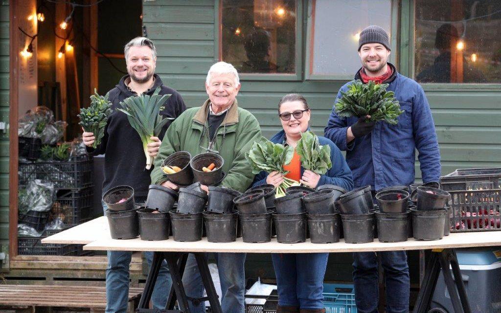 Bridge Community Farms in Ellesmere Port expands after acquiring The Natural Veg Men delivered