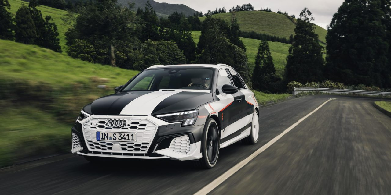 All New Audi A3 Quattro Drive Gets Its Moment In The Sun North West Connected